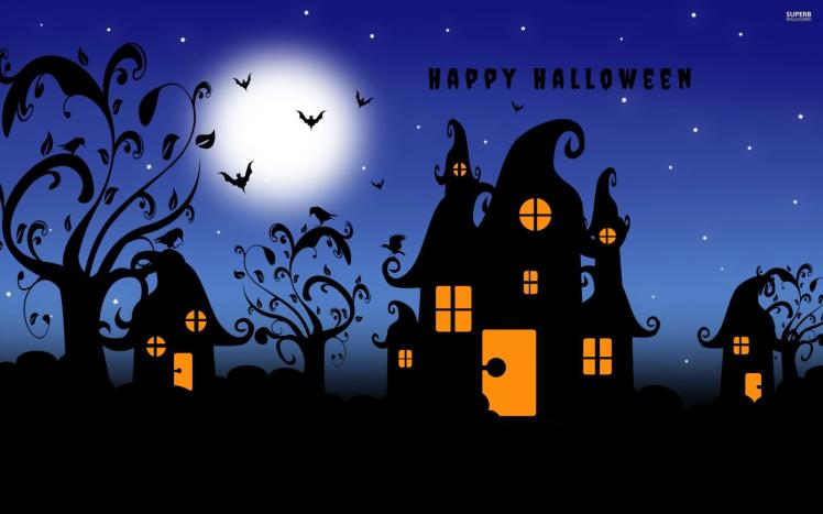 happy-halloween-scary-house-wallpaper1