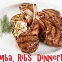 1Zumba,  Ribs  Dinner!