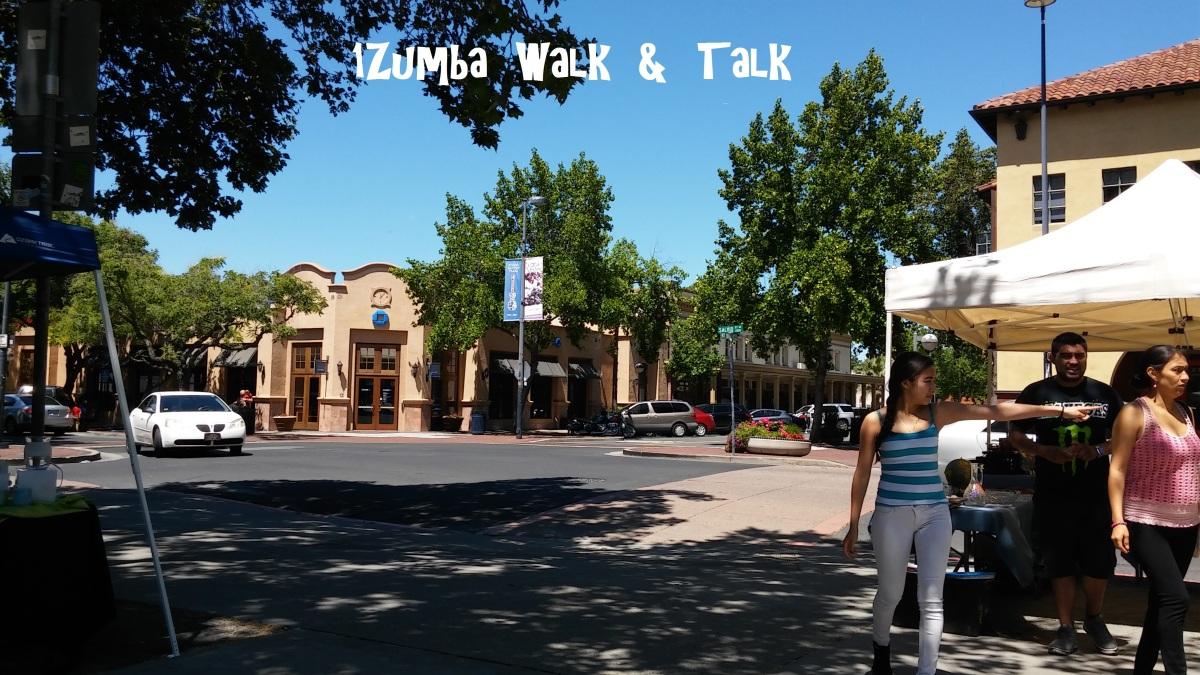 1Zumba  Walk  &  Talk!