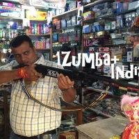 1Zumba+,   India!