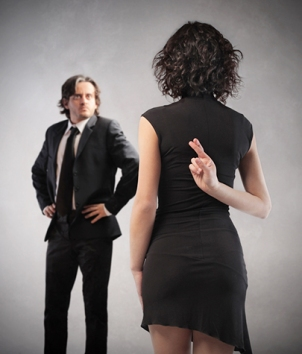 Image result for body language when you're lying