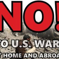 """No  More  Wars"", US People Say!"