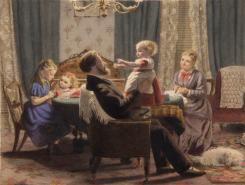 a_family_in_a_drawing_room_19c