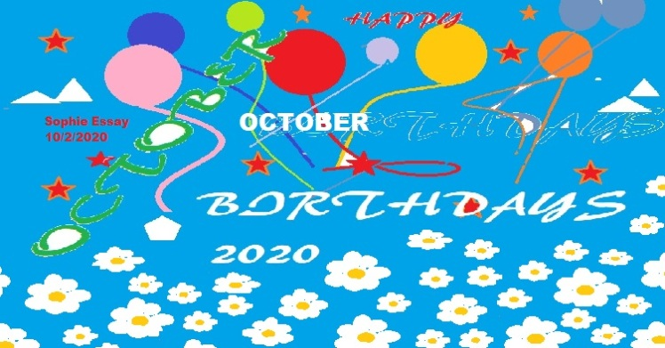 sOPHIEoCTOBERbIRTHDAY